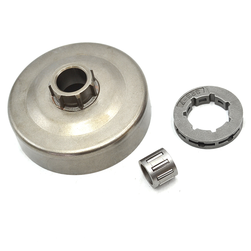 .325 Rim Sprocket Clutch Drum Needle Bearing Kit For HUSQVARNA 36 41 136 137 141 142 Chainsaw 38mm cylinder piston crank case housing bearing kit fit husqvarna 137 142 new