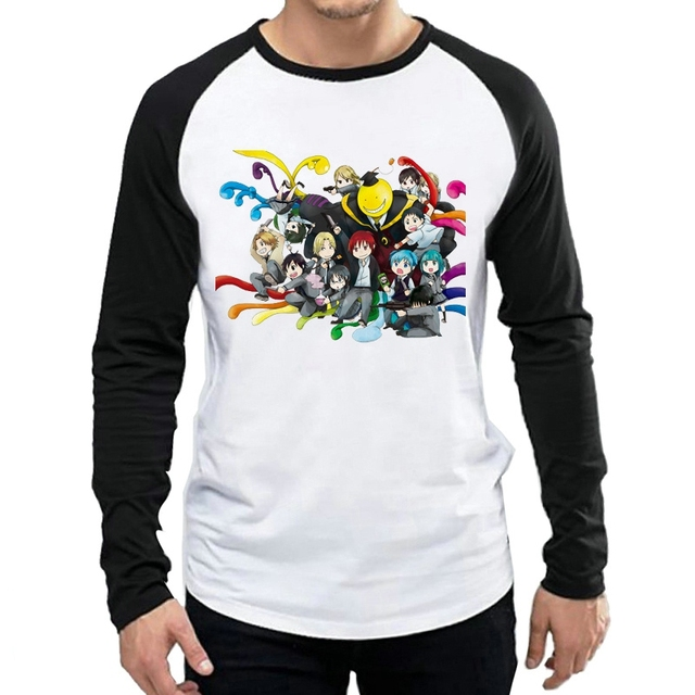 Assassination Classroom Themed Long Sleeve T-Shirt
