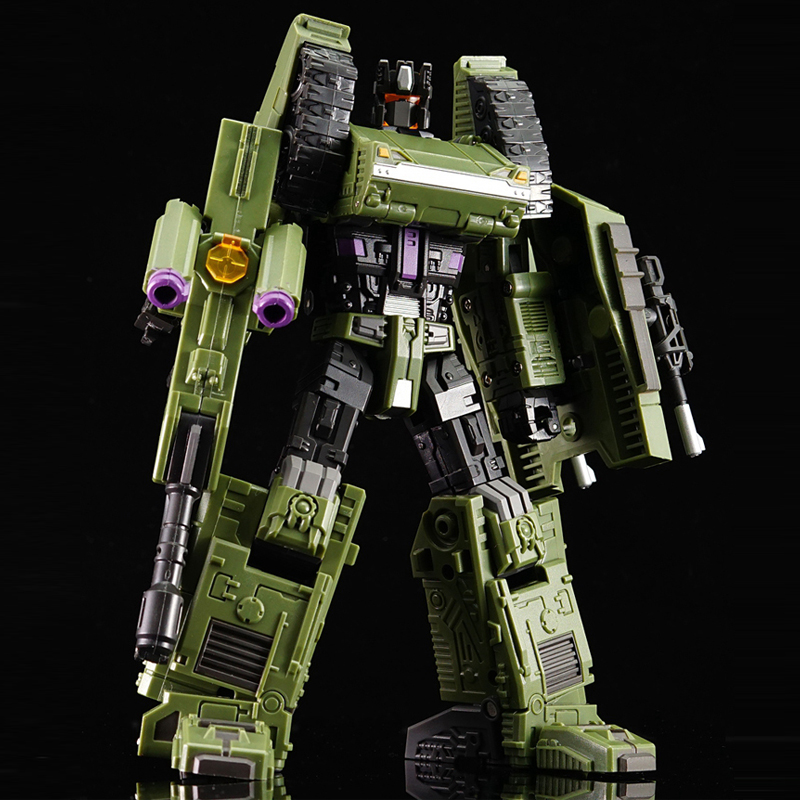(IN STOCK) Toys Warbotron WB-01B Bruticus Brawl Tank Left Foot