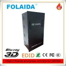 16U 72 вход 72 выход HDMI матричный коммутатор 72x72 hdmi матрица поддержки Универсальный EDID металлический штекер в матрице- 05