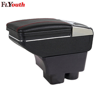 For Skoda Rapid 2013 2018 Car Armrest Box Central Store Content Box Storage Interior Car Styling Decoration Accessories Parts