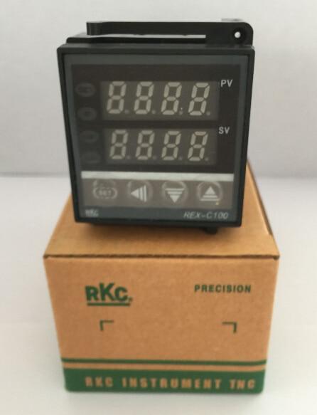 PID Digitale Temperaturregelung Regler Thermoelement REX-C100FK02-M * EINE relaisausgang