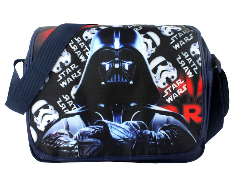 Men Baoy Star Wars Shoulder School Messenger Bag Handbag Gift New Boys Girls Gift star wars boys black