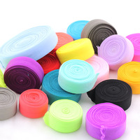 2cm Width Multi Color Options Garment Hair Accessory Elastic Cord Overlock Elastic Cord