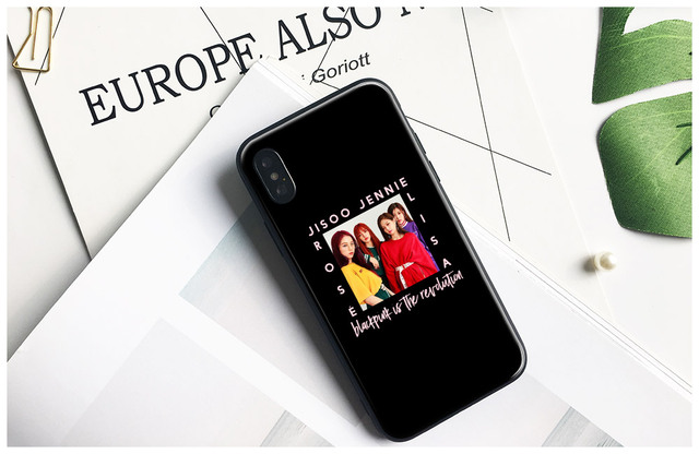 BLACKPINK IPHONE CASE FREE STRAP