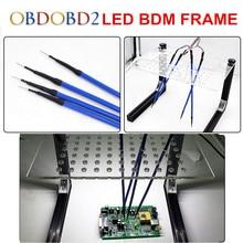 Best LED BDM РАМА полный комплект и 4 зонды ручки, используемые для Авто ЭКЮ чип Тюнинг инструмент KTAG K- тег KESS FG Tech V54 BDM100 Бесплатная доставка