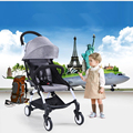 Russia free shipping baby pram wheel BB lay folded baby stroller shock avoiding folding baby child hand push baby carriages