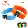 Tw64s tw64 plus rastreador de fitness monitor de freqüência cardíaca banda inteligente pulseira inteligente bluetooth 4.0 pulseira de relógio pk xiaomi mi banda