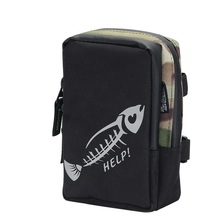 BaMMax Fishing bag 17cm*12cm*5cm waterproof multifunctional canvas lure Outdoor Portable Tackle Pesca