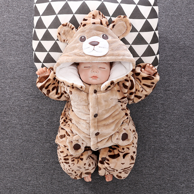 2018 Newborn Cartcoon Jumpsuits Baby gril clothes and Boy clothes Newbron Baby Suit Warm Coat For Kids Fur Coat Fall and Winter2018 Newborn Cartcoon Jumpsuits Baby gril clothes and Boy clothes Newbron Baby Suit Warm Coat For Kids Fur Coat Fall and Winter