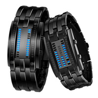 SKMEI Unique Watches Men Fashion Digital Sport Watch Men Creative LED Display Couple Watch Waterproof Full Steel Wristwatch Man