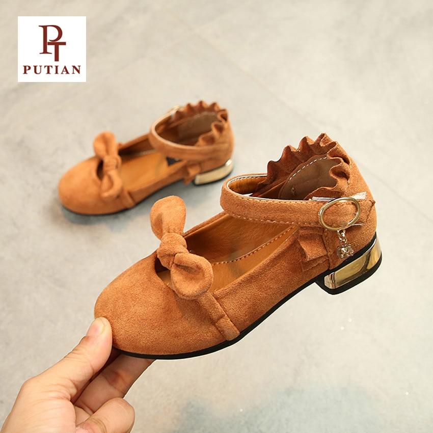 PU TIAN Bērnu apavi Meiteņu apavi Modes Bowknot Ērti bērni - Bērnu apavi