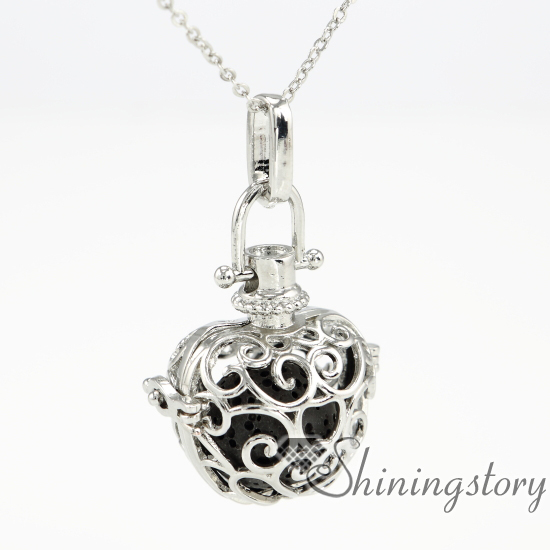Apple metal volcanic stone openwork aromatherapy necklace diffuser apple metal volcanic stone openwork aromatherapy necklace diffuser pendants wholesale perfume necklace essential oil diffuser je aloadofball Image collections