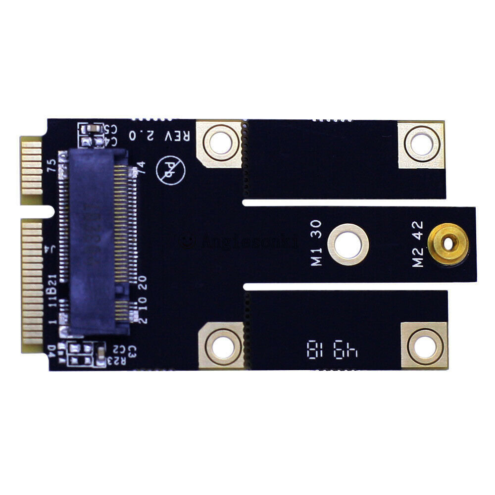 3G 4G M2M M.2 NGFF B Key Module To Mini PCI-E Adapter Card Converter Module