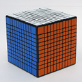 Newest Shengshou 11x11x11 Cube Magic Puzzle Black And White Learning&Educational Cubo magico Kids Toys