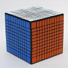 Newest Shengshou 11x11x11 Cube Magic Puzzle Black And White Learning Educational Cubo magico Kids Toys