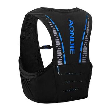 09b11757c7a7 AONIJIE C933 5L Открытый Спорт бег рюкзак марафон Trail Running жилет  гидратации пакет для 2L вода сумка Велоспорт Пеший Туризм Сумка