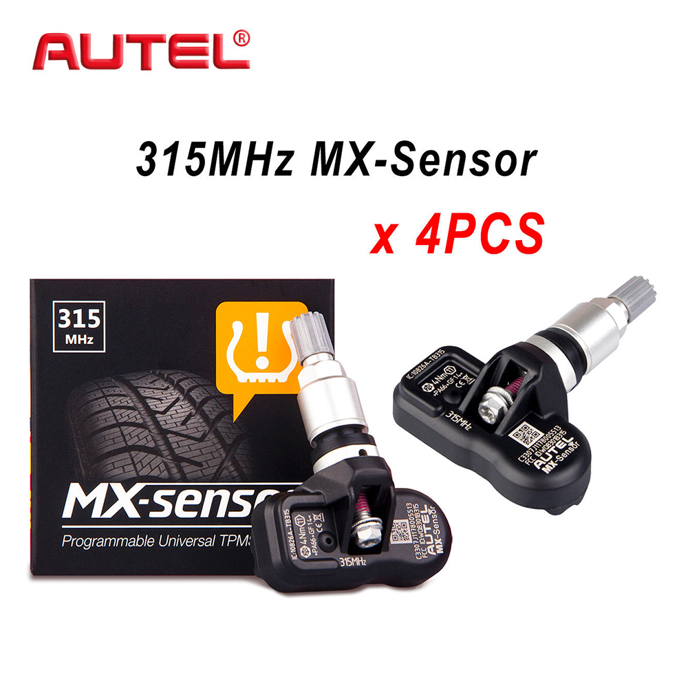 купить 4PCS 315MHz/433hz Car Tire Pressure Monitoring System Programmable Universal Car TPMS Sensor For TPMS TS501 Diagnostic Tool по цене 6072.86 рублей