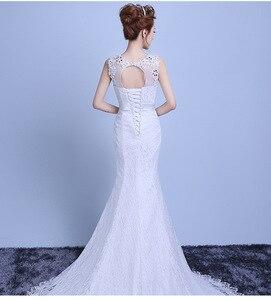 Image 3 - Fashion Elegant Sweetheart Lace Wedding Dress 2020 for Wedding Bride Mermaid Dresses Vestidos De Baratos Wedding Gowns
