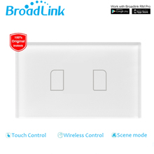 Broadlink TC2,US Normal,2 gang,good house Automation,cellphone Distant wi-fi management lamp gentle Change by Broadlink RM Professional