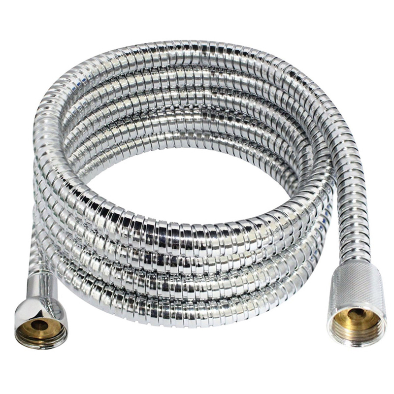 1.5M/2M/3M Stainless Steel Shower Hose High Quality Encryption Explosion-proof Hose Spring Tube Pull Tube Bathroom Accessories