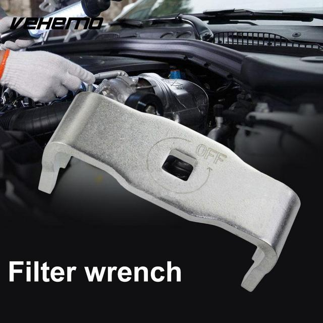 Vehemo Stainless Steel Oil Filter Wrench Engine High Quality Car Automobile  Silver Socket Tool for Toyota-in Engine Care from Automobiles &
