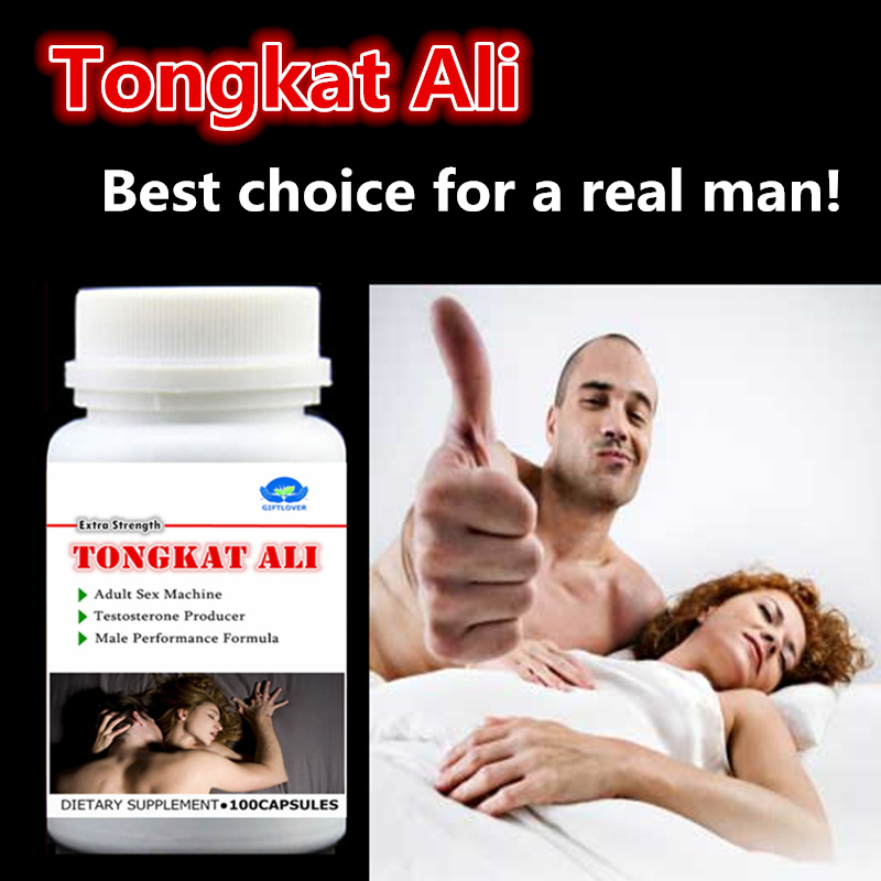 PURE TONGKAT ALI ROOT EXTRACT 400:1, 100PCS/BOTTLE,FREE SHIPPING все цены