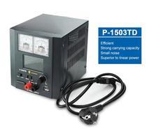 15 в 3A P-1503TD Интеллектуальный DC Регулируемый источник питания светодиодный дисплей Регулируемый импульсный регулятор источник питания для ремонта телефона
