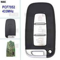 WALKLEE Car Smart Remote Key Suit For KIA K2 K5 Rio Optima Forte Cerato Sportage Sorento