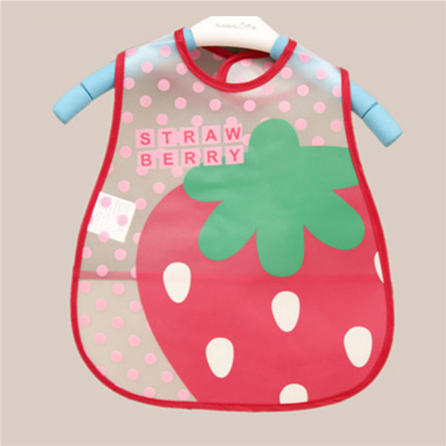 2017 Baby Bibs EVA Waterproof Lunch Bibs Boys Girls Infants Cartoon Pattern Bibs Burp Cloths For Children Self Feeding Care