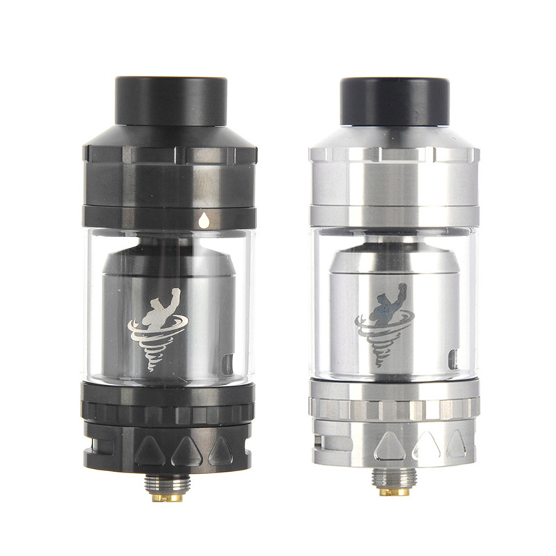 Original IJOY Tornado Hero Sub ohm Tank 5 2ml Kennedy Style Airflow Side Filling Tank with