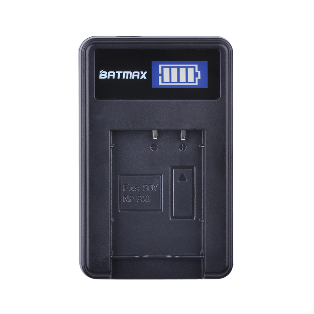 LCD USB Charger for NP-BX1 np bx1 Battery for Sony DSC-RX100 DSC-WX500 IV HX300 WX300 HDR-AS15 X3000R MV1 AS30V HDR-AS300