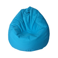Lazy BeanBag Sofas Waterproof Stuffed Animal Storage Toy Bean Bag Solid Color Chair Cover Beanbag Sofas Without Lining