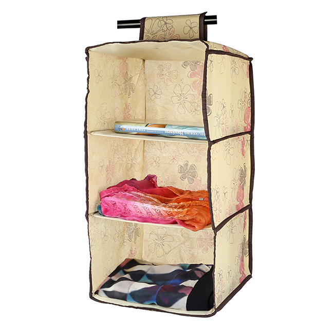 Beautiful Aliexpress.com : Buy LAGUTE 3 Shelf Hanging Wardrobe Storage Clothing Shelves  Closet Organizer From Reliable Organizer Wallet Suppliers On StyleSelect