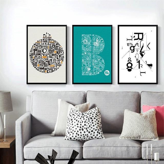 haochu triptychon moderne kunst leinwand. Black Bedroom Furniture Sets. Home Design Ideas