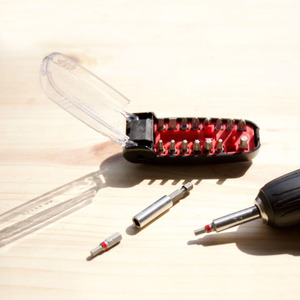 Image 5 - Youpin Wiha מברג Kit17 ב 1 ביטים ברגים מגנטי תנין פה צורת נייד כיס מברג סט תיקון כלי