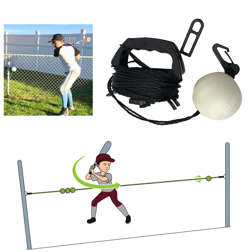 Baseball Trainer Set Kit For Sport Training Program Baseball Strike Training Tool Easy To Use Professional Baseball Tune Up Kit