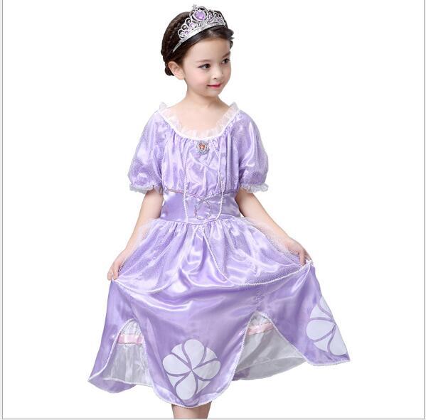 Envío gratis recién llegado de fantasía infantil Menina princesa - Disfraces