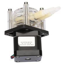 Ad alto Flusso Resistente Alla Corrosione di Vuoto Pompa autoadescante Pompa Peristaltica con Motore Passo passo 6 ~ 30 V