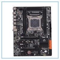 Новая настольная станция материнской платы X99 V1.2 DDR4 блок питания ATX LGA2011 компьютер материнская плата DIMM SATA 3,0 и USB 3,0