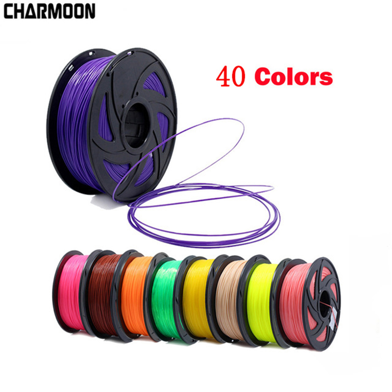 3D Printer PLA Filament 1.75mm Filament Dimensional Accuracy+/ 0.02mm 1KG 343M 2.2LBS 3D Printing Material for RepRap