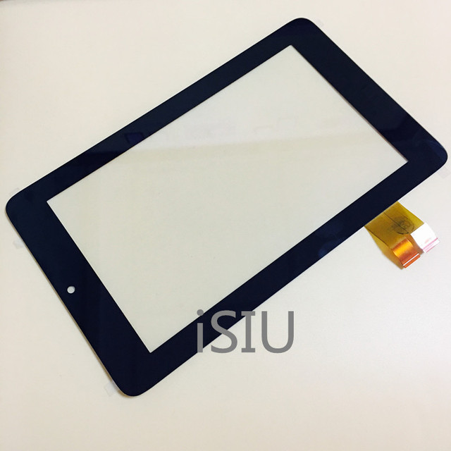 iSIU Touch Screen For Asus Memo Pad ME172 ME172V 7.0 Inches Touch Panel Front Glass Pad Digitizer Black White NO LCD DISPLAY