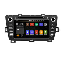 Octa Çekirdekli RAM 4G ROM 32G Android Fit TOYOTA PRIUS sol/Sağ Sürüş 2009-2014 2015 Araba DVD Oynatıcı Navigasyon GPS radyo