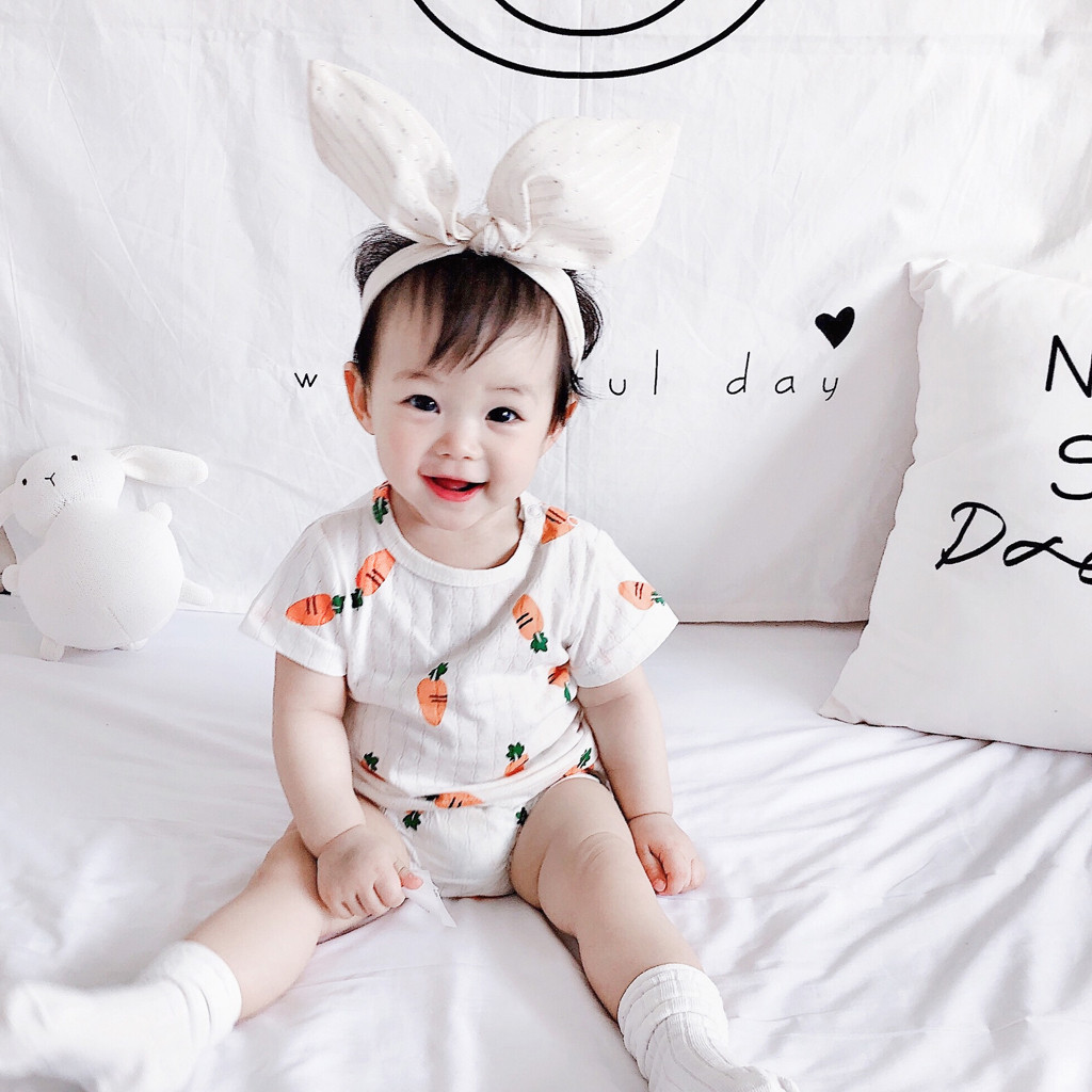 MUQGEW New Baby Girl Clothes Toddler Kids Baby Boys Girl Cartoon Outfits T shirt Tops Shorts Clothes Dropshipping Roupa Infantil