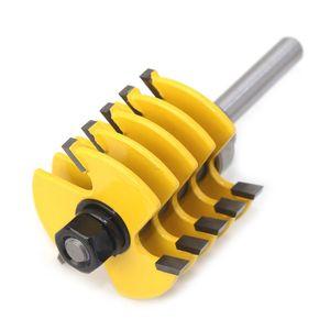 Image 4 - 8mm haste ajustável dentes dedo junção roteador bit cortador de madeira de grau industrial tenon ferramenta para trabalhar madeira