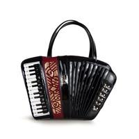 Women Lady Shoulder Bag Italy Braccialini Handbag Organist guitar violin style bags Ladies Bag Designer Music totes Gifts