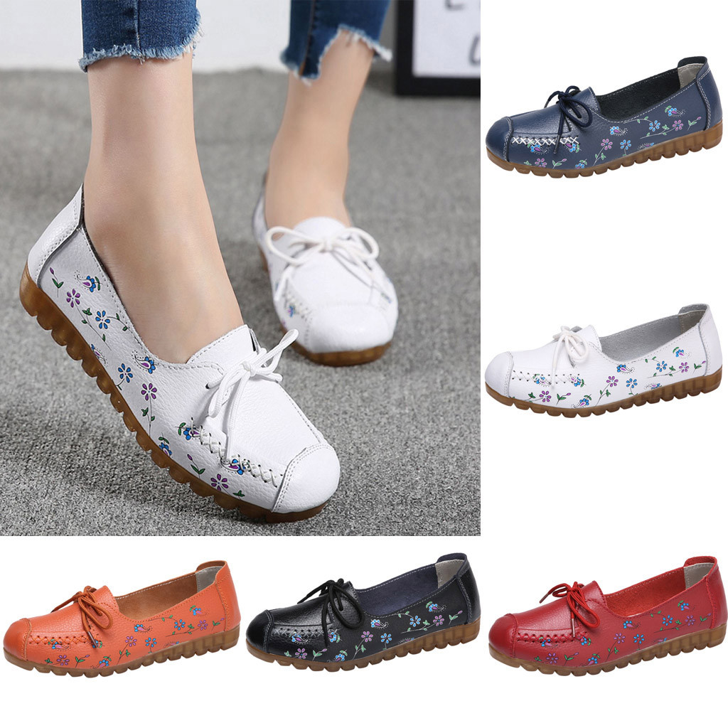 Slip On Casual Flat Shoes Women Loafers