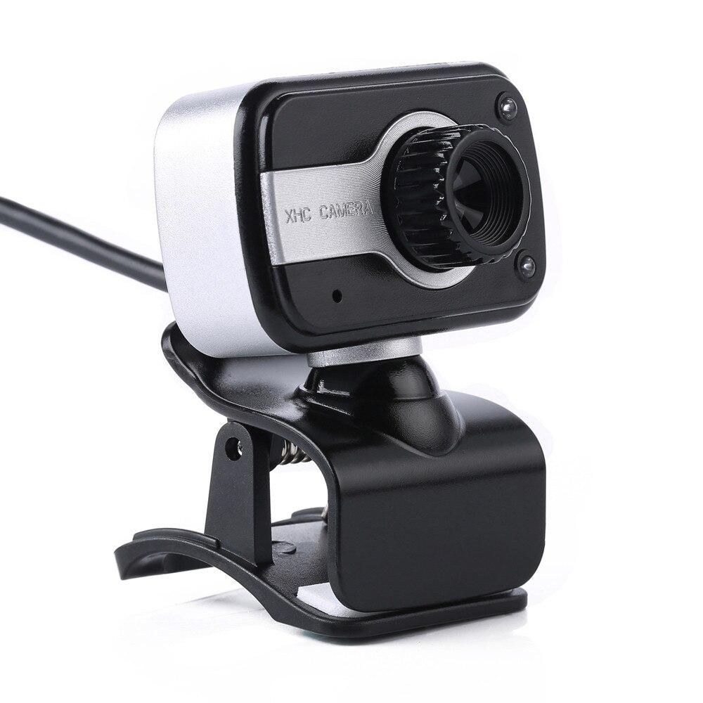 2 Led Usb 2.0 Hd Webcam Caméra Web Caméra Avec Microphone Micro Pour Pc Portable Livraison Directe April22