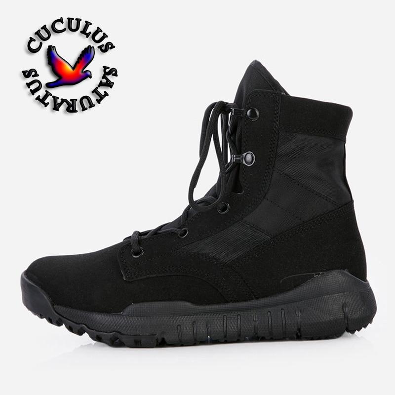 Cuculus Tactical Boots men Desert Combat Outdoor hiking Boots Shoes Autumn Summer Ankle Men Boots Working shoes CQBZB new outdoor hiking boots special forces tactical boots men s desert combat boots size 39 40 41 42 43 44 45