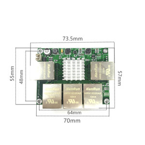 Image 4 - Industrial grade mini micro low power 3/4/5 port 10/100/1000Mbps RJ45 Gigabit network switch module gigabit   network switch